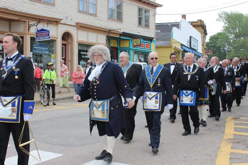 275th Annapolis Royal Parade 2013