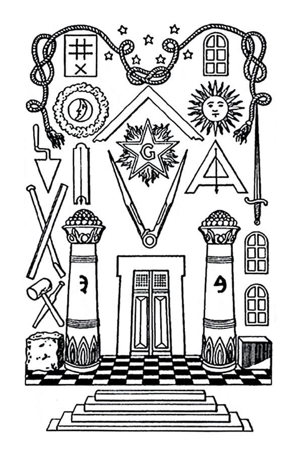 Ksl Masonicart Masonicsymbols 7liberalarts Structureoffreemasonry3 Structureoffreemasonry2